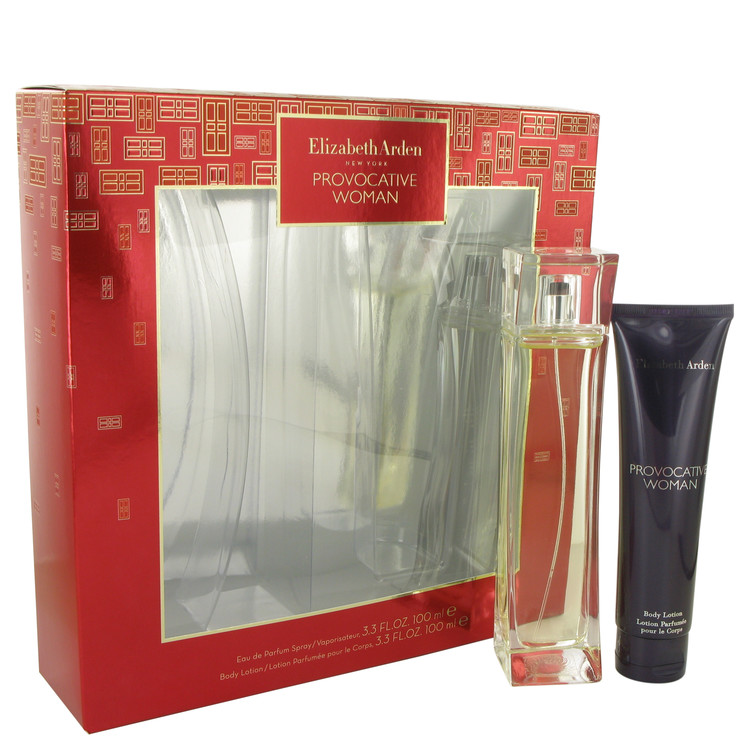 Provocative Gift Set -- Gift Set - 3.3 oz Eau De Parfum Spray + 3.3 oz Body Lotion for Women