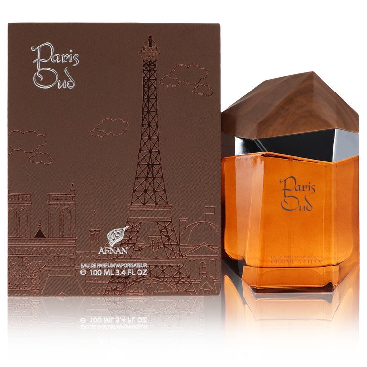 Paris Oud  by Afnan Women's Eau De Parfum Spray 3.4 oz