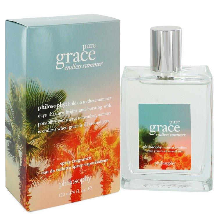 Pure Grace Endless Summer by Philosophy Eau De Toilette Spray 4 oz for Women