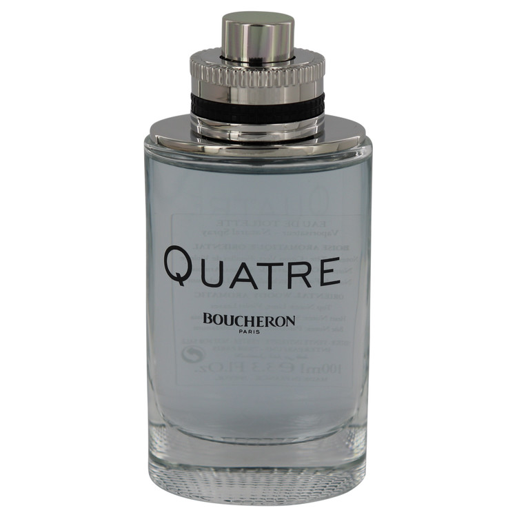 Quatre by Boucheron for Men Eau De Toilette Spray (Tester) 3.3 oz