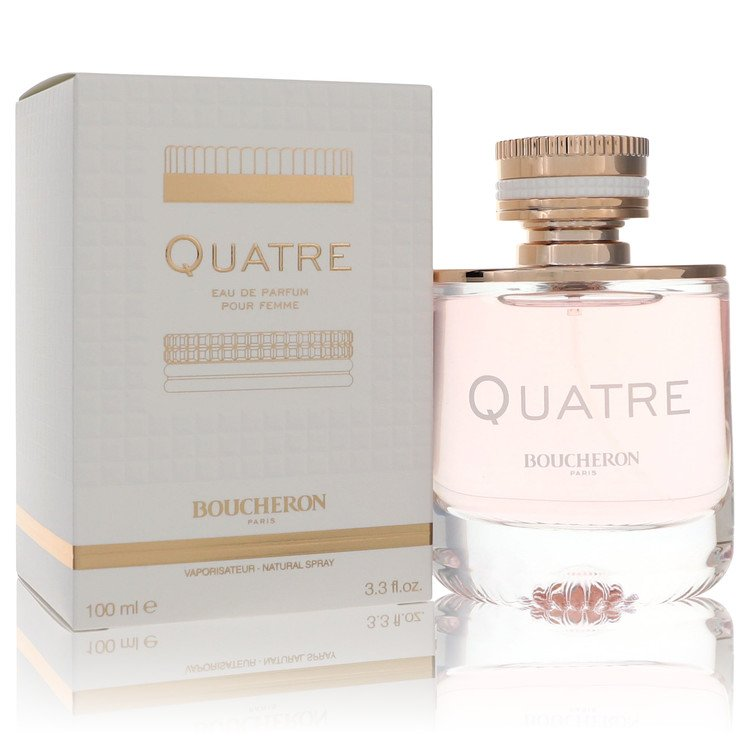 Quatre Perfume by Boucheron 100 ml Eau De Parfum Spray for Women