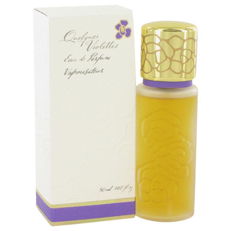 Quelques Violettes Perfume by Houbigant 50 ml EDP Spay for Women