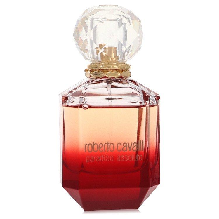 Roberto Cavalli Paradiso Assoluto by Roberto Cavalli for Women Eau De Parfum Spray (unboxed) 2.5 oz