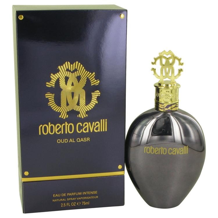 Roberto Cavalli Oud Al Qasr Perfume 75 ml Eau De Parfum Intense Spray for Women