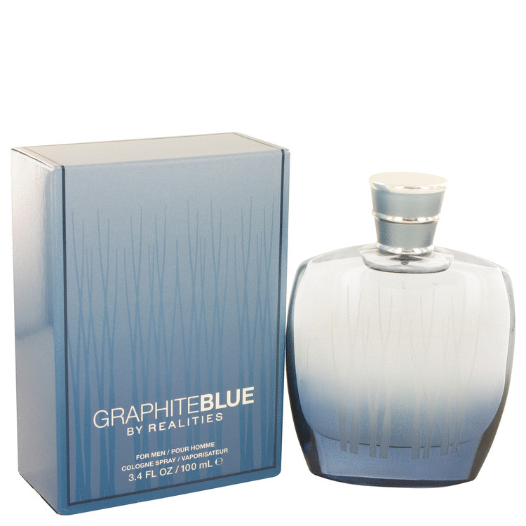 Realities Graphite Blue Cologne 100 ml Eau De Cologne Spray for Men