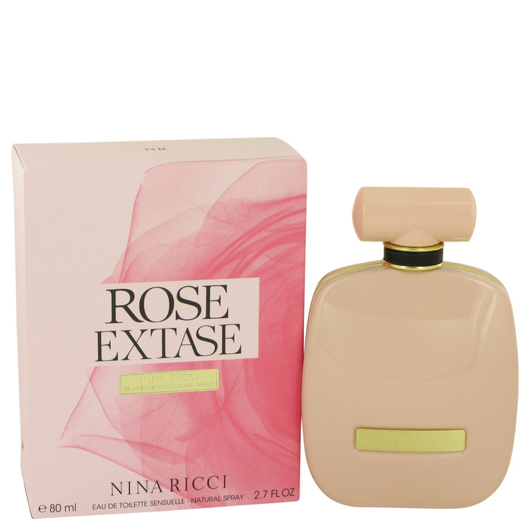 Rose Extase Perfume 80 ml Eau De Toilette Sensuelle Spray for Women