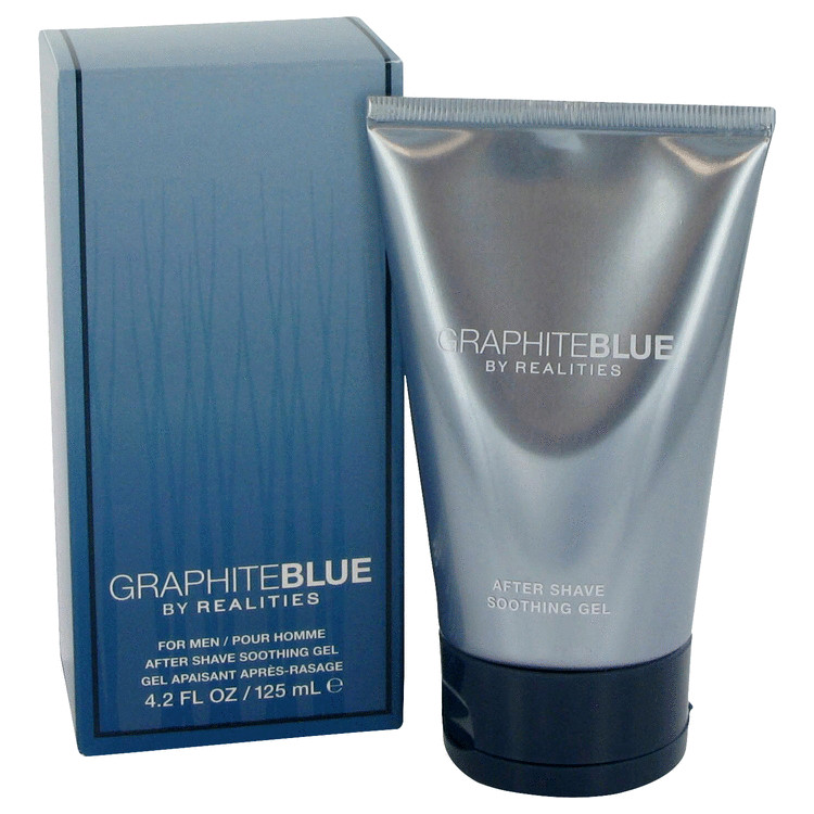 Realities Graphite Blue by Liz Claiborne for Men After Shave Soother Gel 4.2 oz