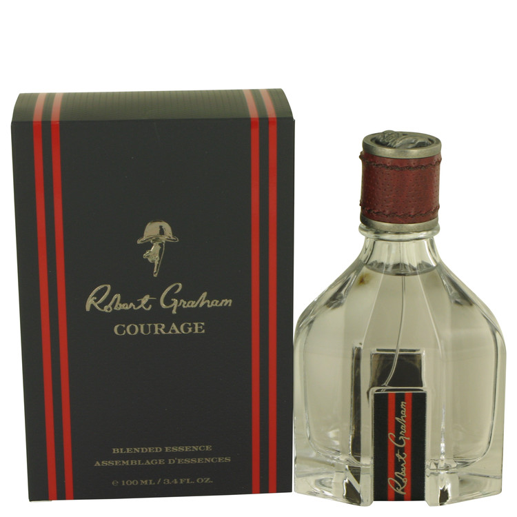 Robert Graham Courage by Robert Graham for Men Blended Essence 3.4 oz