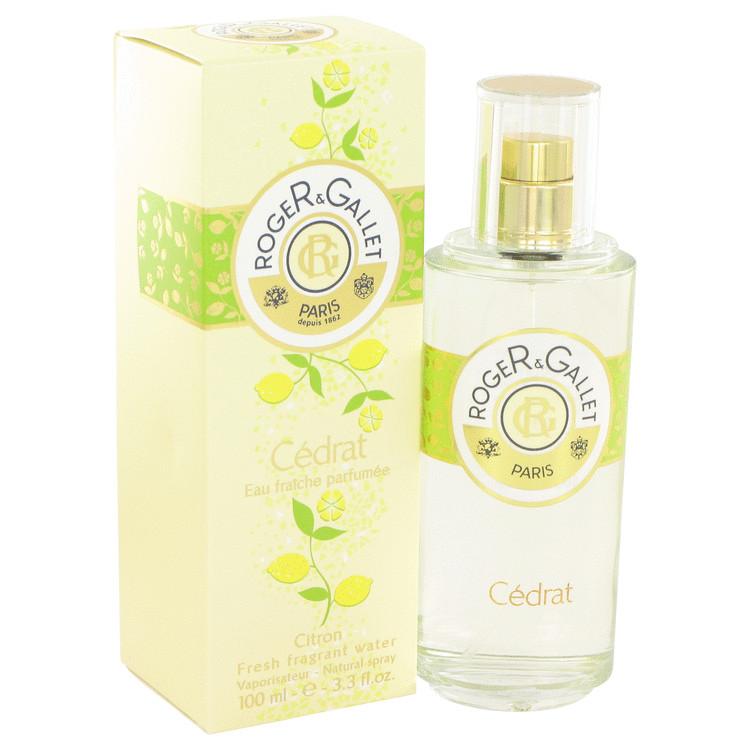 Roger & Gallet Cedrat Citron Perfume 100 ml Fresh Fragrant Water Spray for Women