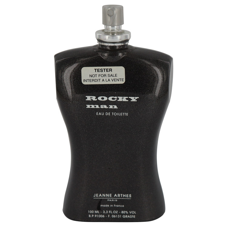 Rocky Man by Jeanne Arthes for Men Eau De Toilette Spray (Tester) 3.4 oz