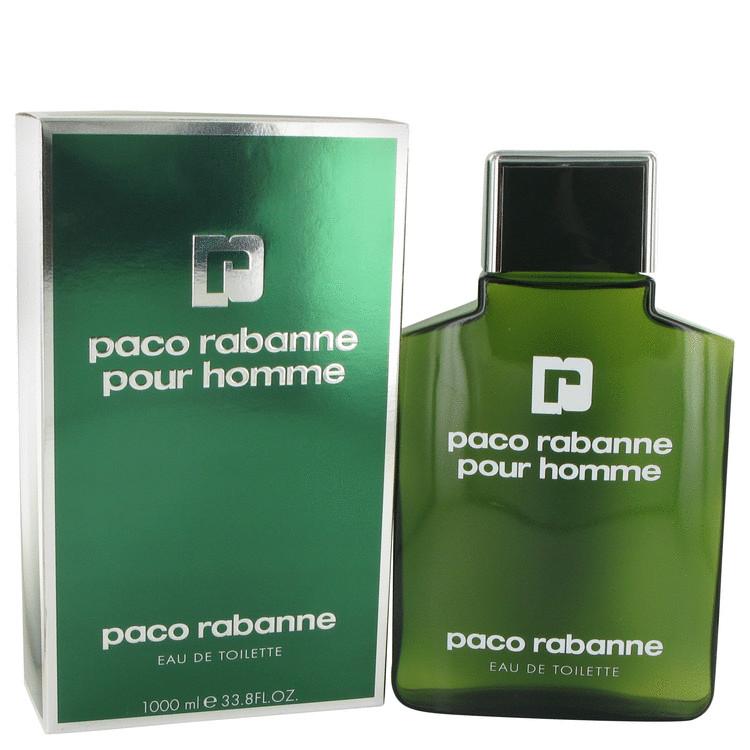 Paco Rabanne Cologne by Paco Rabanne 1000 ml Eau De Toilette for Men