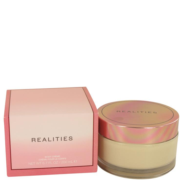 Realities (New) by Liz Claiborne for Women Body Cream Glass Jar 6.7 oz