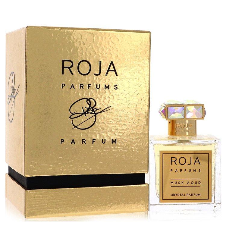 Roja Musk Aoud Crystal Pure Perfume 100 ml Extrait De Parfum Spray (Unisex) for Women