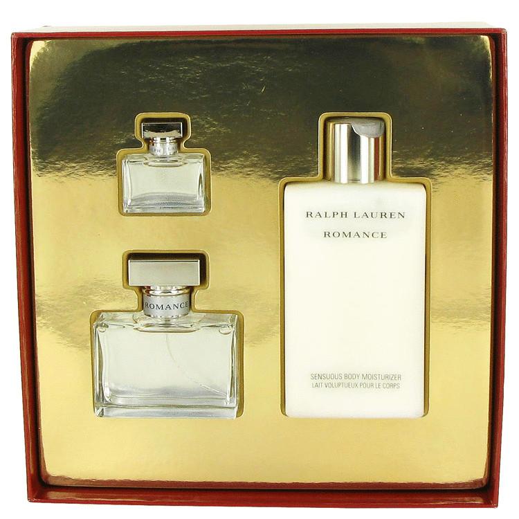 Romance Gift Set -- Gift Set - 1.7 oz Eau De Parfum Spray + 6.7 oz Body Lotion + .25 oz Mini EDP for Women