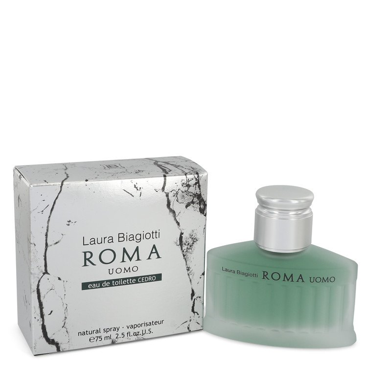 Roma Uomo Cedro Cologne by Laura Biagiotti 75 ml EDT Spay for Men