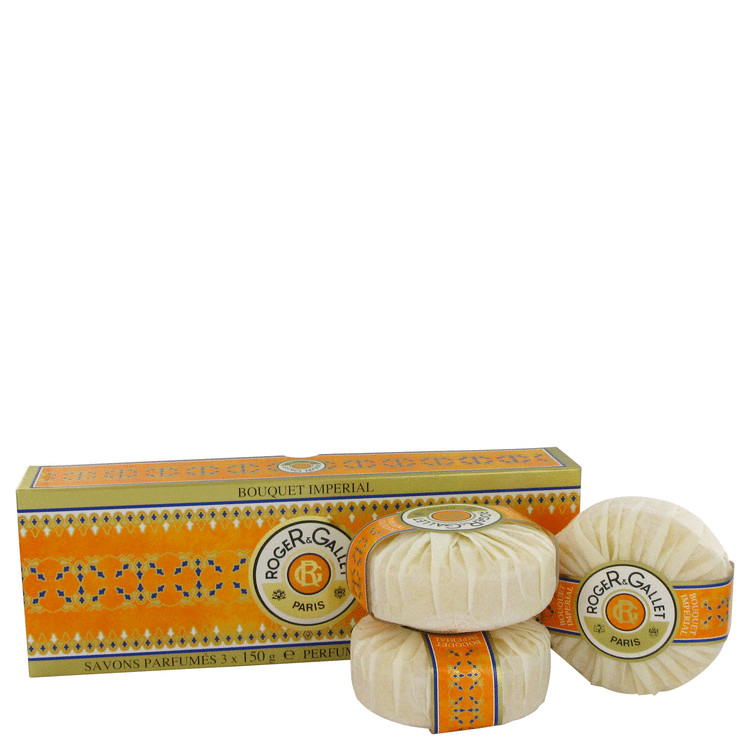 Roger & Gallet Bouquet Imperial Soap 5.2 oz Three Soaps each 5.2 oz for Women