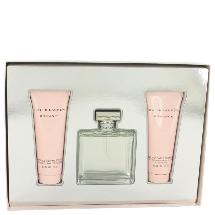 Romance Gift Set -- Gift Set - 3.4 oz Eau De Parfum Spray + 2.5 oz Body Moisturizer + 2.5 oz Shower Gel for Women