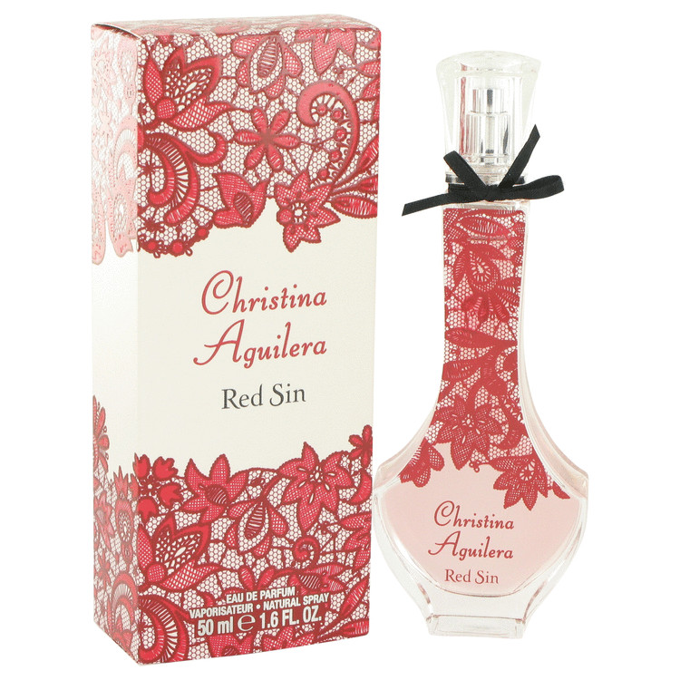 Christina Aguilera Red Sin Perfume 50 ml EDP Spay for Women