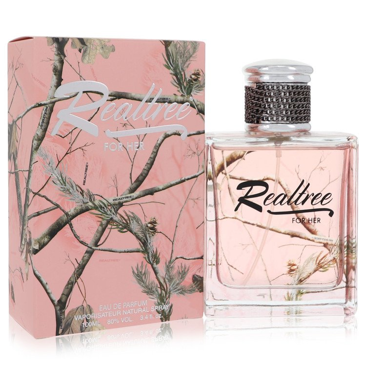 Realtree Perfume by Jordan Outdoor 3.4 oz EDP Spay for Women