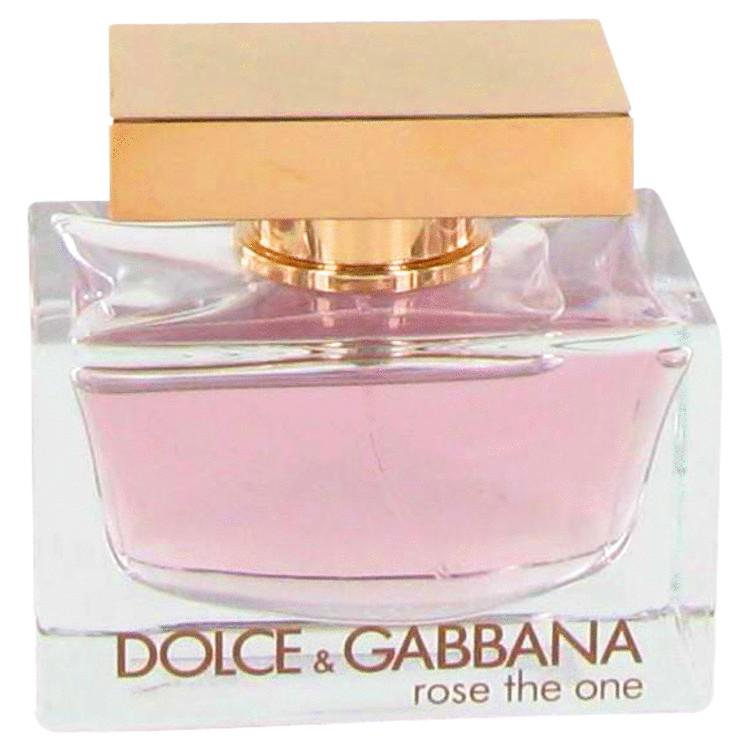 Rose The One by Dolce & Gabbana for Women Eau De Parfum Spray (Tester) 2.5 oz