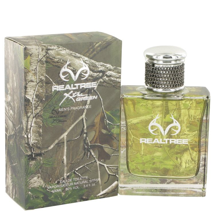 Realtree Cologne by Jordan Outdoor 100 ml EDT Spay for Men