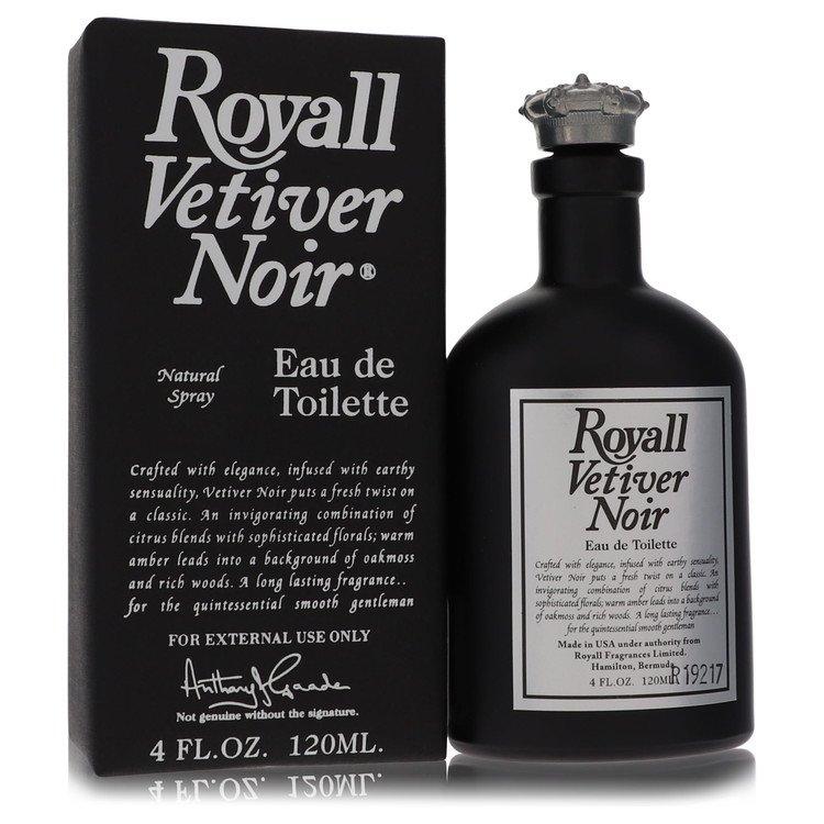Royall Vetiver Noir by Royall Fragrances for Men Eau de Toilette Spray 4 oz