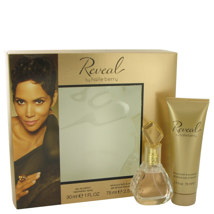 Reveal by Halle Berry for Women Gift Set -- 1 oz Eau De Parfum Spray + 2.5 oz Bath & Shower Gel