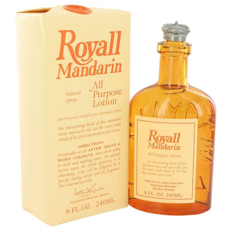 Royall Mandarin by Royall Fragrances for Men All Purpose Lotion / Cologne 8 oz