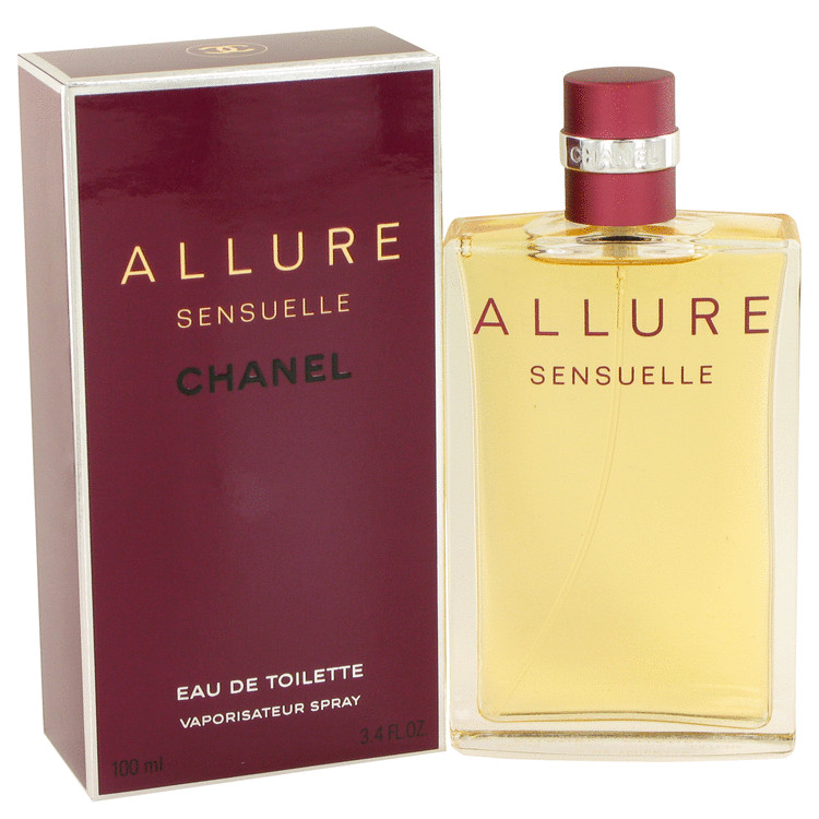 Allure Sensuelle Perfume by Chanel 100 ml EDT Spay for Women