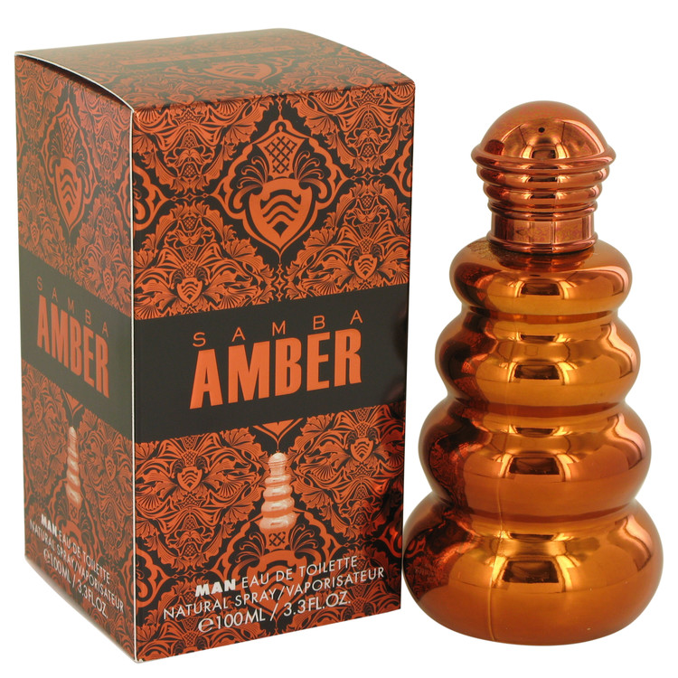 Samba Amber Cologne by Perfumers Workshop 100 ml EDT Spay for Men
