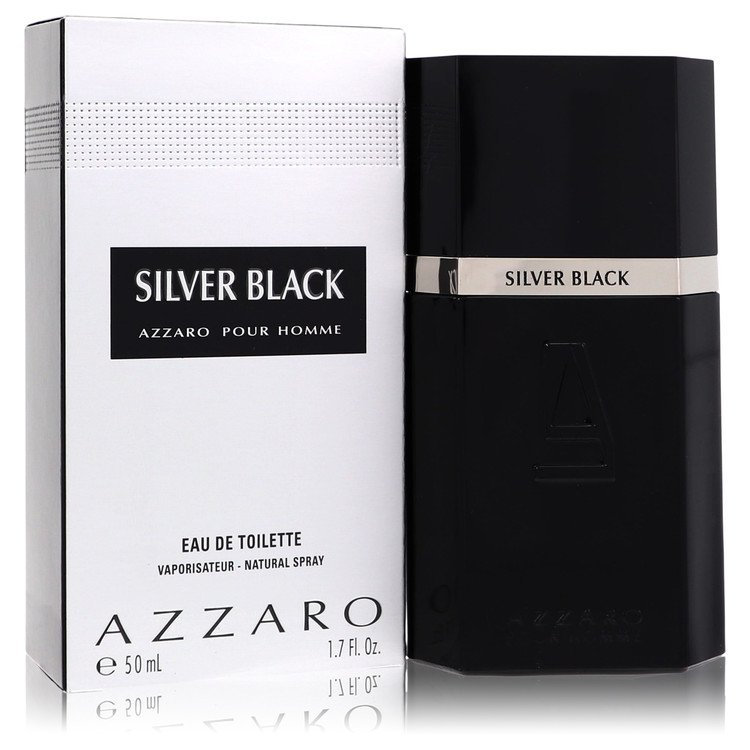 Silver Black Cologne by Azzaro 50 ml Eau De Toilette Spray for Men