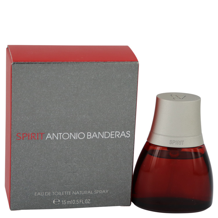 Spirit by Antonio Banderas for Men Eau De Toilette Spray .5 oz