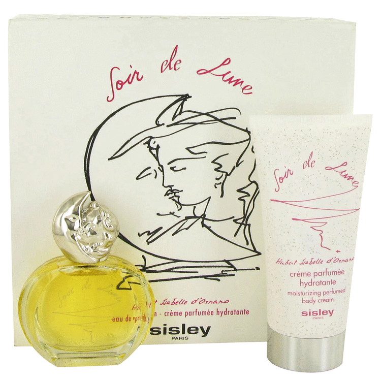 Soir De Lune Gift Set -- Gift Set - 1.6 oz Eau De Parfum Spray + 5.1 oz Body Cream for Women