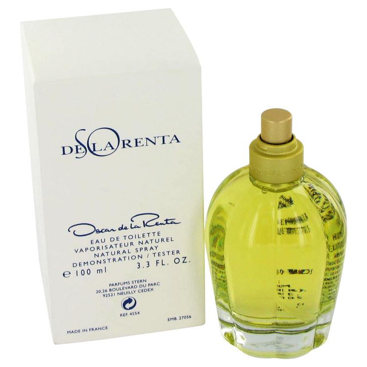 So De La Renta Perfume 3.4 oz EDT Spray(Tester) for Women