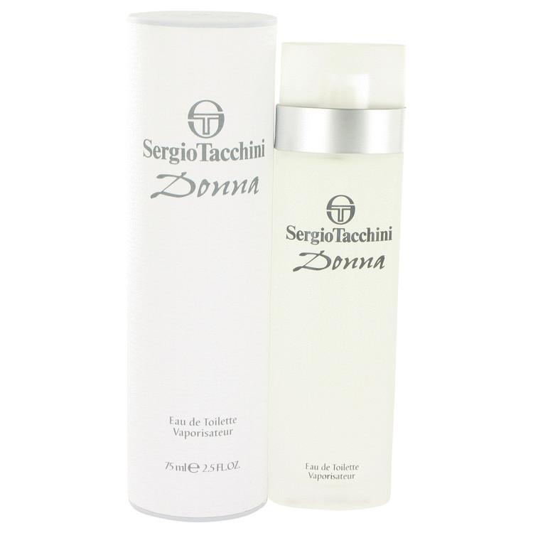 Sergio Tacchini Donna by Sergio Tacchini for Women Eau De Toilette Spray 2.5 oz