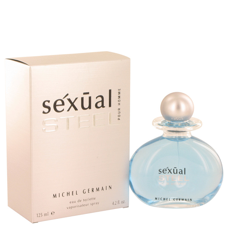 Sexual Steel Cologne by Michel Germain 125 ml EDT Spay for Men