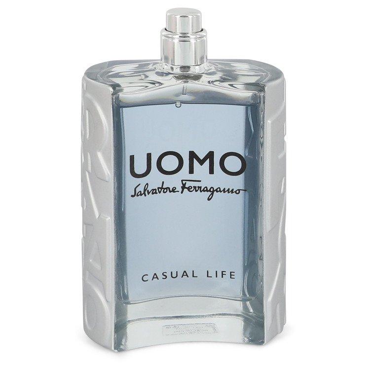 Salvatore Ferragamo Uomo Casual Life by Salvatore Ferragamo Eau De Toilette Spray (Tester) 3.4 oz for Men