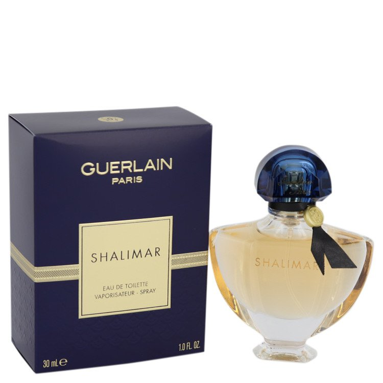 Shalimar Perfume by Guerlain 1 oz EDT Spray for Women