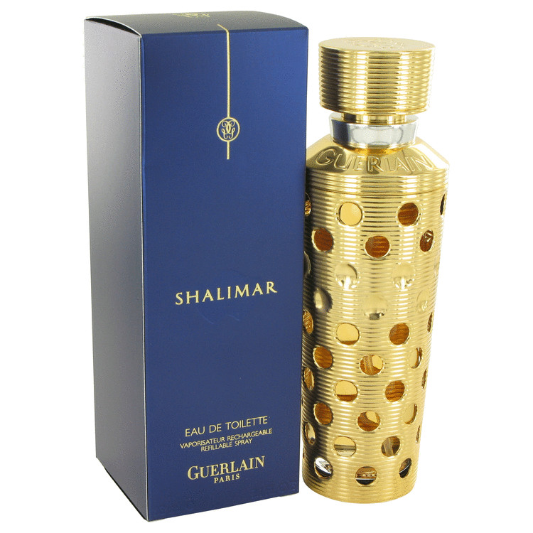 Guerlain Shalimar Perfume 3.1 oz EDT Spray Refillable for Women