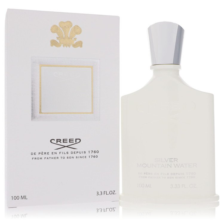 Silver Mountain Water Cologne by Creed 3.3 oz EDP Spay for Men Spray