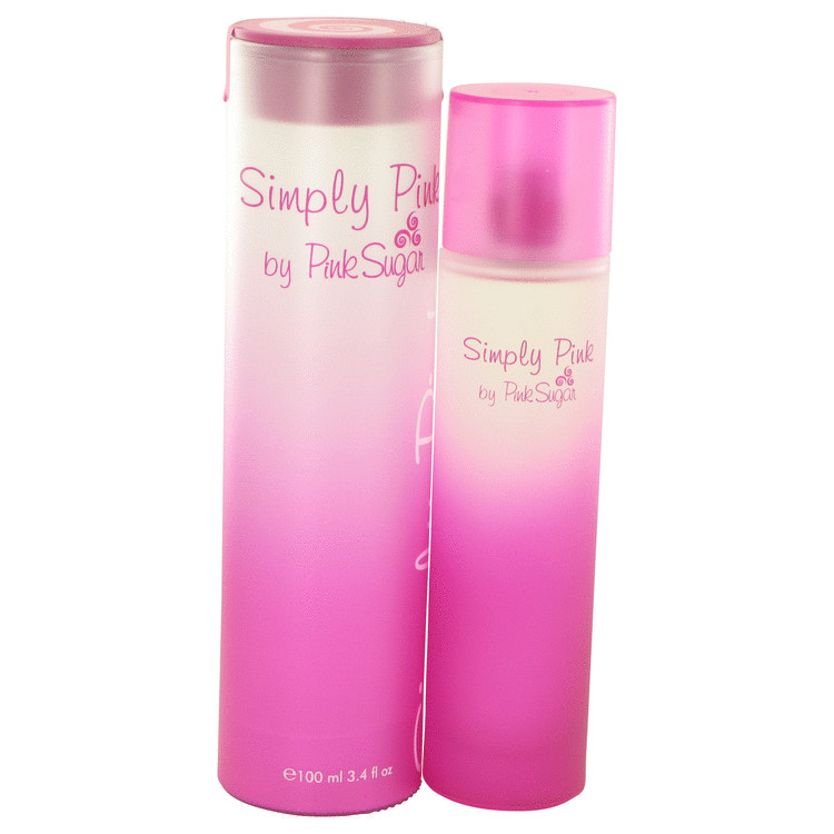 Simply Pink Perfume by Aquolina 100 ml Eau De Toilette Spray for Women