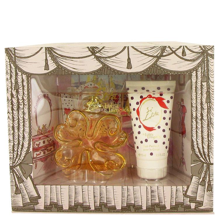 Si Lolita Gift Set -- Gift Set - 2.7 oz Eau De Parfum Spray + 2.5 oz Body Lotion for Women