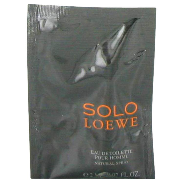 Solo Loewe by Loewe Men's Vial (sample) .07 oz