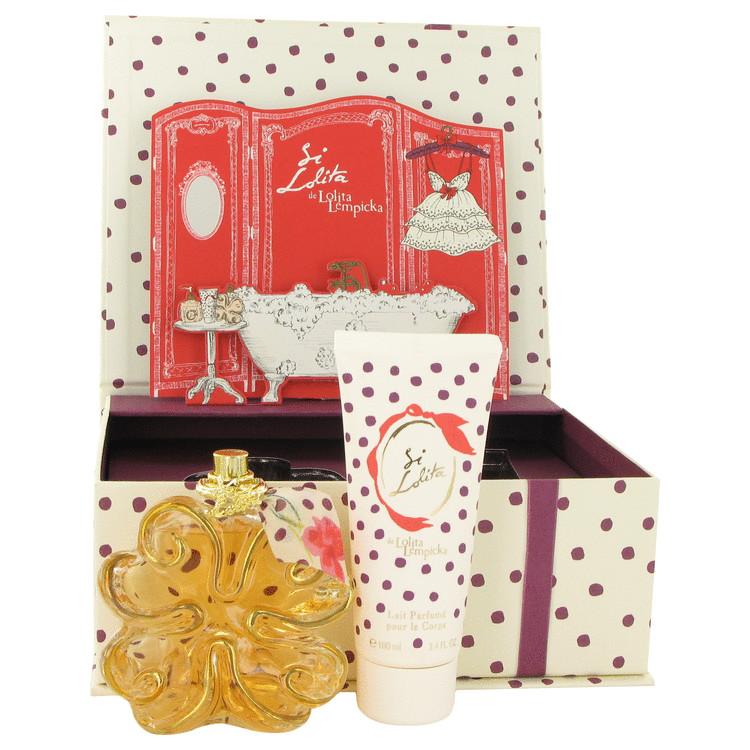 Si Lolita for Women, Gift Set (2.7 oz EDP Spray + 3.4 oz Body Lotion)