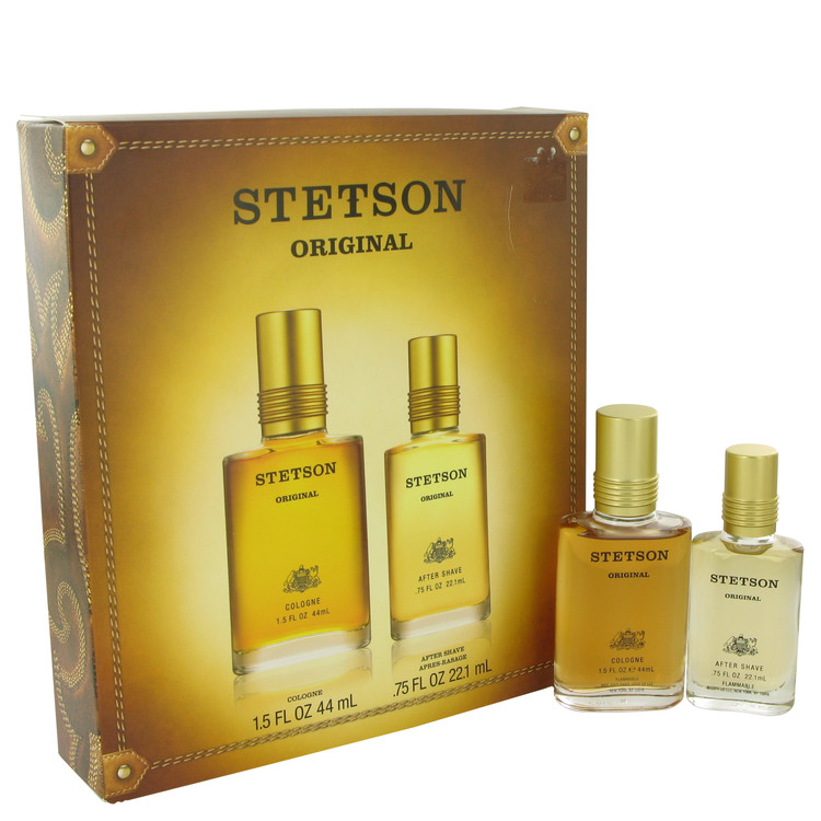 STETSON by Coty –  Gift Set — 1.5 oz Cologne + .75 oz After Shave — for Men