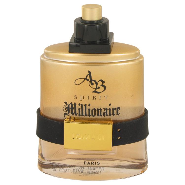 Spirit Millionaire by Lomani Men's Eau De Toilette Spray (Tester) 3.3 oz