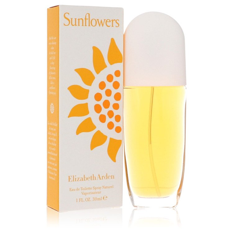 SUNFLOWERS by Elizabeth Arden –  Eau De Toilette Spray 1 oz 30 ml for Women