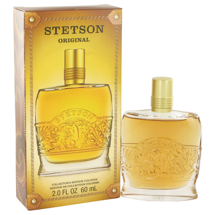 STETSON by Coty for Men Cologne (Collectors Edition Decanter Bottle) 2 oz