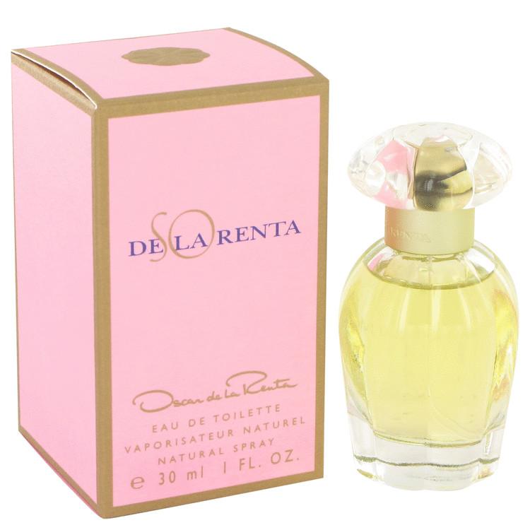 So De La Renta Perfume by Oscar De La Renta 1 oz EDT Spay for Women