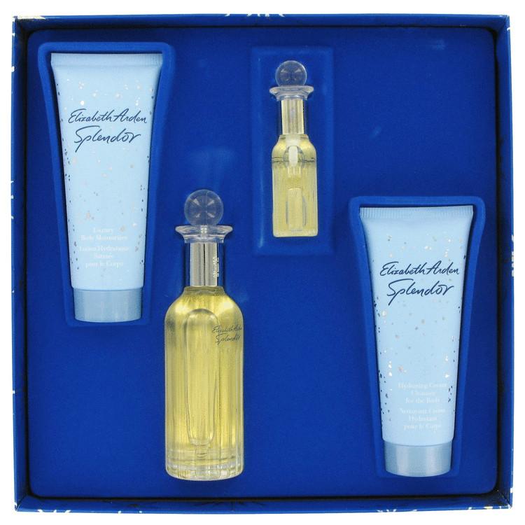 Splendor Gift Set -- Gift Set - 2.5 oz Eau De Parfum Spray + .33 oz Mini Spray + 3.3 oz Body Moisturizer + 3.3 oz Hydrating Cream Cleanser for Women